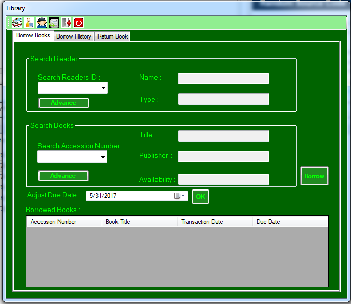 Library Management System Using Vb Net And Ms Access