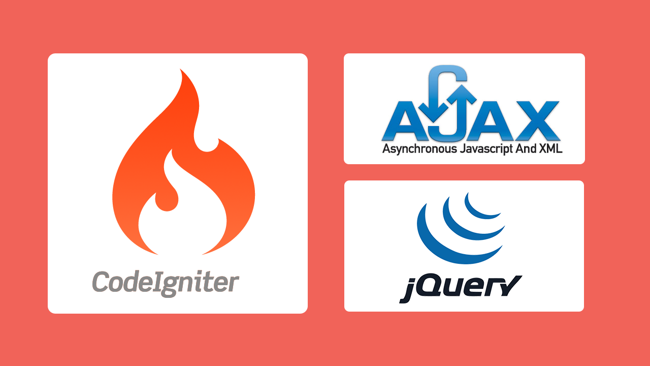 CodeIgniter and jQuery/Ajax - CRUD Select, Insert, Update, and
