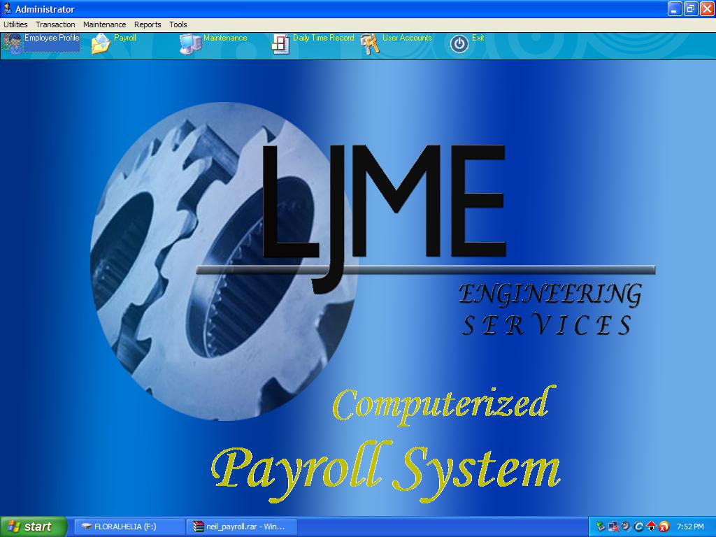 a computerized payroll system A computerized payroll system performs the same functions that manual methods of payroll do it stores employee data, such as names, addresses, social security numbers, pay rates and withholding allowances of each person.