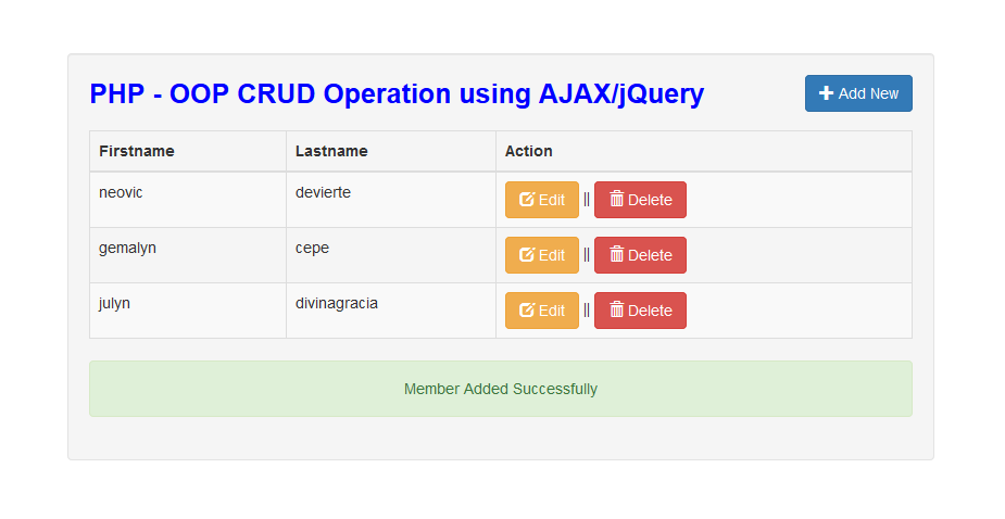 how to create a crud sql