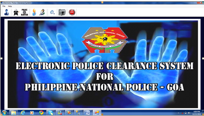 Electronic Police Clearance System | Free Source Code & Tutorials