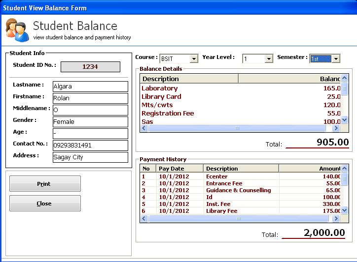 cashiering and student account system framework Requirements for financial information management systems  ledger cashiering and student  and also to provide extensive on-line account enquiries the system.
