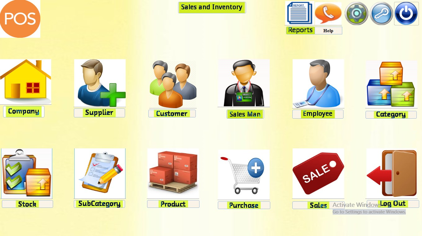 Sales And Inventory Management Software Microsoft Access