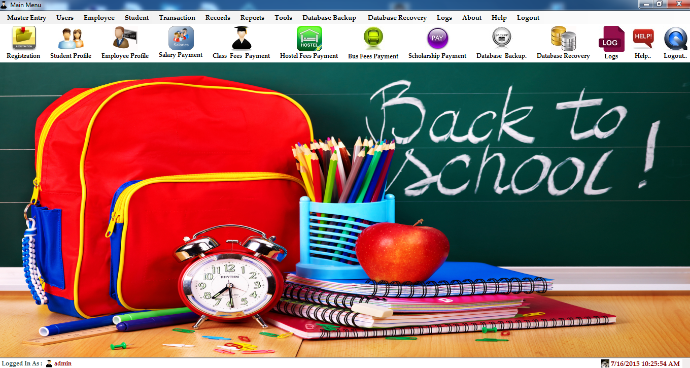 School Management System (C# Net & Sql Server) | Free Source