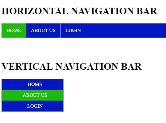 How To Create A Navigation Bar In Html Css Free Source