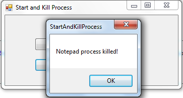 Start and Kill Process using VB NET | Free Source Code