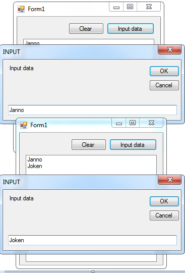 How to Add the Items in the ListBox Using InputBox in VB Net