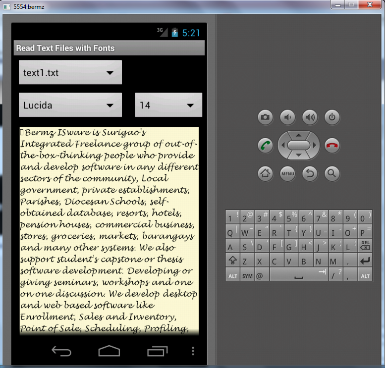 thesis on mobile operating system