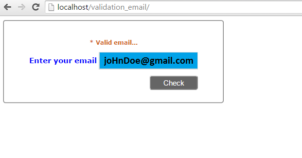 do you need to validate or verify an email address to verify the validity of your email address simply enter your email address into the textbox provided - Verify Email Address Php