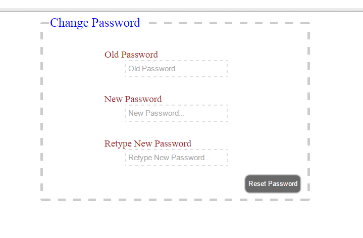 how to create username and password in php