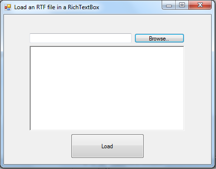 Load and Display Contents of RTF File in a RichTextBox in VB
