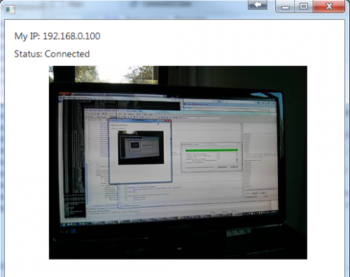 CCTV Camera using Android (Client) and C# (Server) *Complete