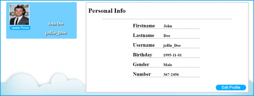 profile information page in php mysql free source code \u0026 tutorials Profile.php Viewas 100000686899395 in this tutorial, we are going to create my new tutorial and it\u0027s called \