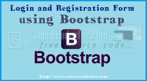 Login And Registration Form Using Bootstrap Free Source Code