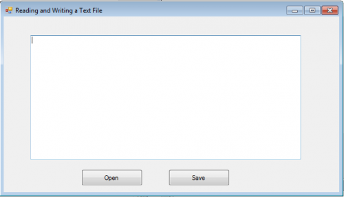 How to read and write a text file in vb net
