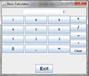 how to make a calculator application in java netbeans