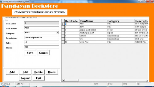 Computerized Inventory System Using MS Access | Free source code ...