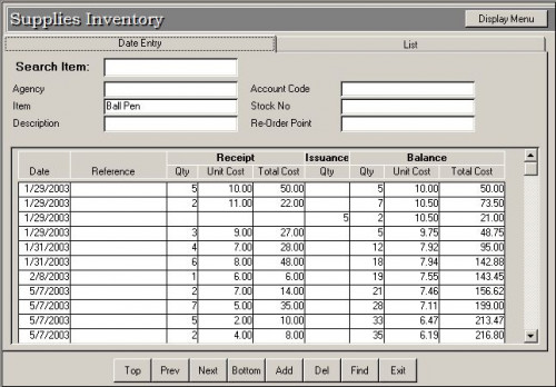 c tutorial for inventory management system with c code pos