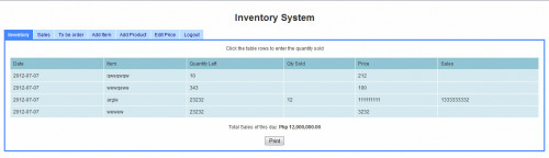 Simple Inventory System Using PHP/MySQL | Free source code ...
