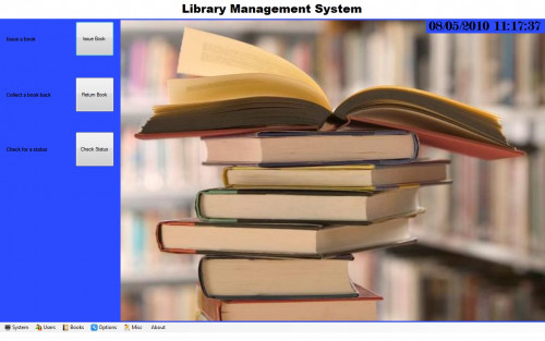 online library management system project in php  pdf