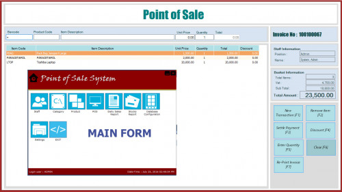 Point Of Sale And Inventory System CNet Version 20