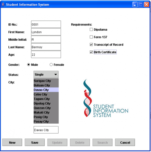 student access database