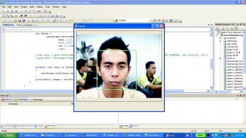 Face Detection Concept in C# | Free Source Code & Tutorials
