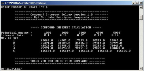 how to solve for n in compound interest