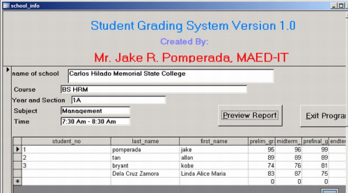 chapter 2 grading system using visual basic