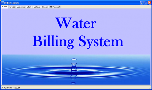 Water Billing System in Visual Basic .NET
