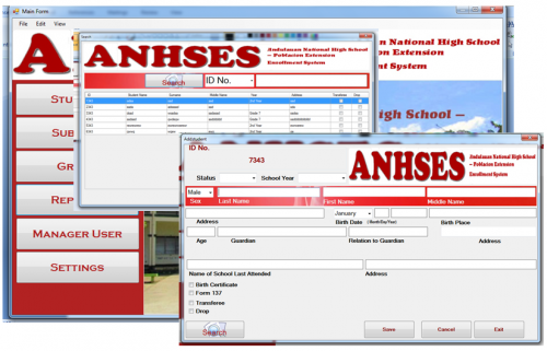 thesis information system
