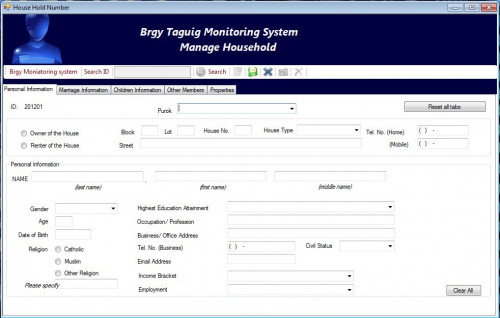 profiling system thesis