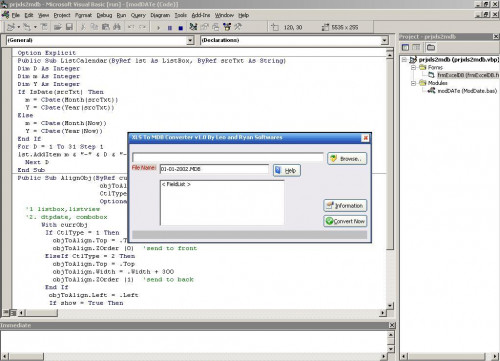 Visual Basic Access Excel File