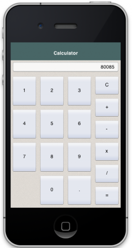 This Is A Simple Demo Of Functional Calculator Native Mobile Lication It Written Using Codename One And Can Be Deployed As Android Ios
