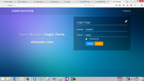 Login and dynamic menu using stored procedure free for Asp net design templates free download