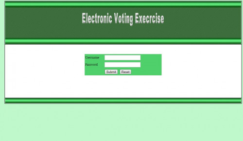 why automated voting system Electronic voting refers to voting using electronic means to either aid or take care  of the.