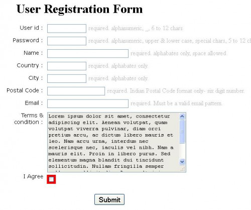 HTML5 Form Validation Without JavaScript