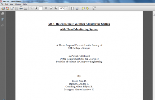 Attendance monitoring system related literature thesis