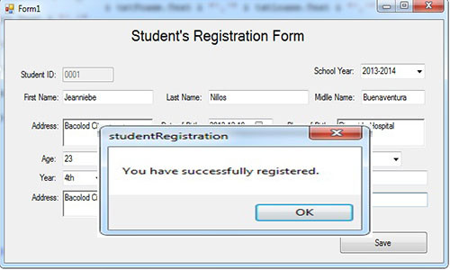 in this tutorial i will create a student s registration form i will show you how to use a module in setting up your codes and minimize bunch of codes in