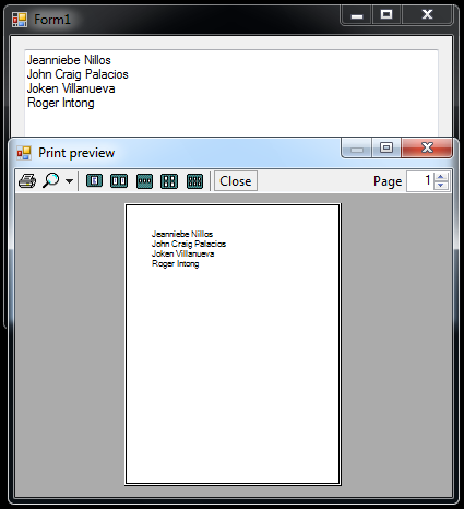 How to Print the Text in a Textbox | Free Source Code & Tutorials