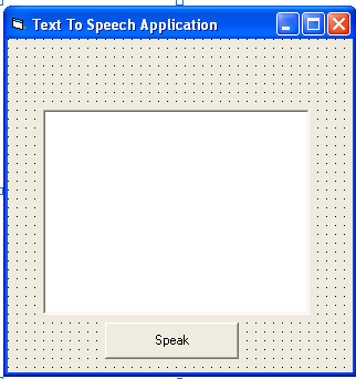 Text-To-Speech Application in VB6 | Free Source Code & Tutorials