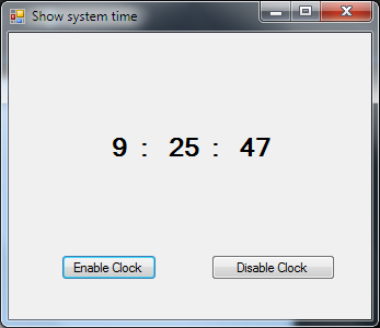 C++ Tutorial: Monitoring System Time C++/CLI | Free Source