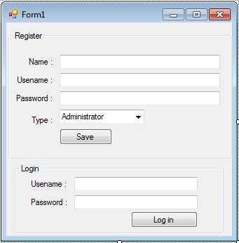 Login User and User Registration Form in Visual Basic 2008 and ...