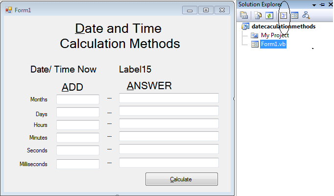 free date and time html code