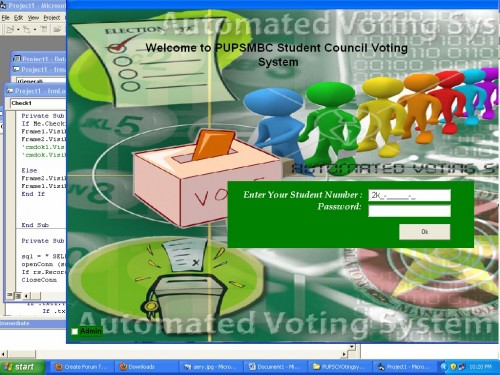 computerized voting system using vb6
