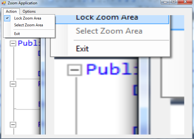 Zoom Application - Lock The Zoom Area (VB NET) | Free Source